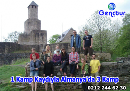 1 Kamp Kaydıyla Almanya'da 3 Kamp