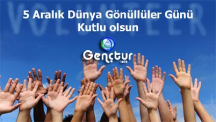 Bugün Dünya Gönüllüler Günü