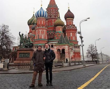 Çalışma Kampları Koordinatörümüz Rusya'da