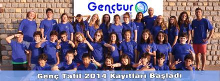 Genç Tatil 2014 Kayıtları Başladı