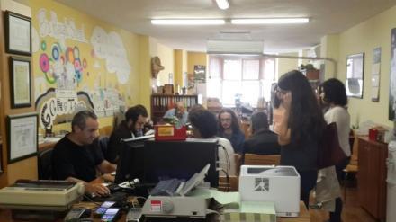 Gençtur'un Ofisinde Yoğunluk