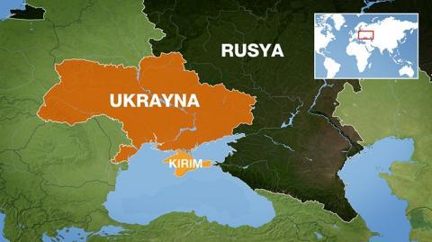 Ukrayna Kırım Harita