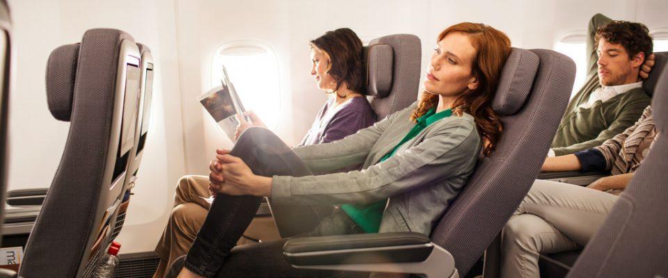 Lufthansa Premiun Class ile Rahat Bir Koltuk