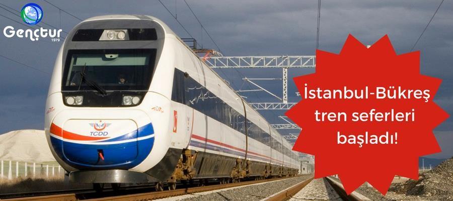 İstanbul – Bükreş Tren Seferleri Başladı