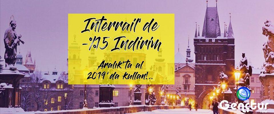Interrail'de %15 Kış İndirimi