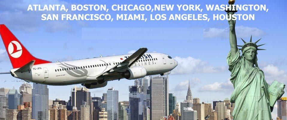 THY ile Amerika'da 9 noktaya esnek kurallı direkt uçuşlar Gençtur'da..
